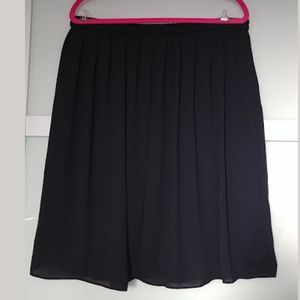 Joe Fresh Chiffon Knee Length Skirt XL